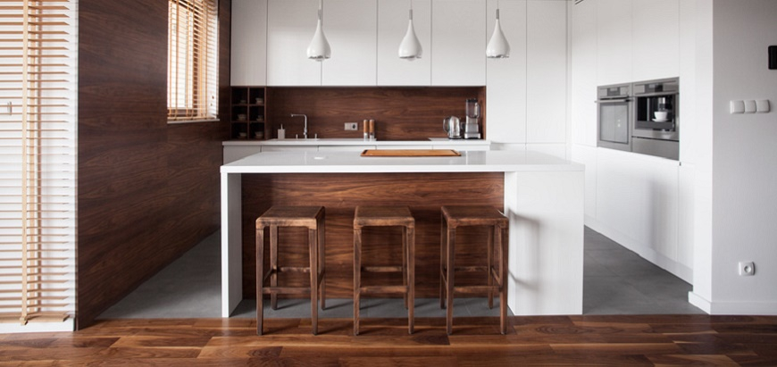 cuisine et d co ou esth tique et pratique. Black Bedroom Furniture Sets. Home Design Ideas